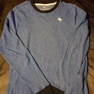 Abercrombie  Boys Blue Sweater